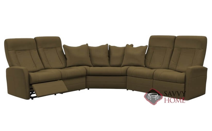 Banff II Fabric True Sectional By Palliser Is Fully