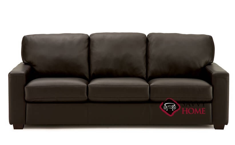 Westend Queen Leather Sofa Bed by Palliser