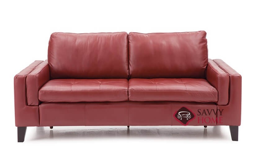 Wynona Leather Stationary Loveseat By Palliser Is Fully