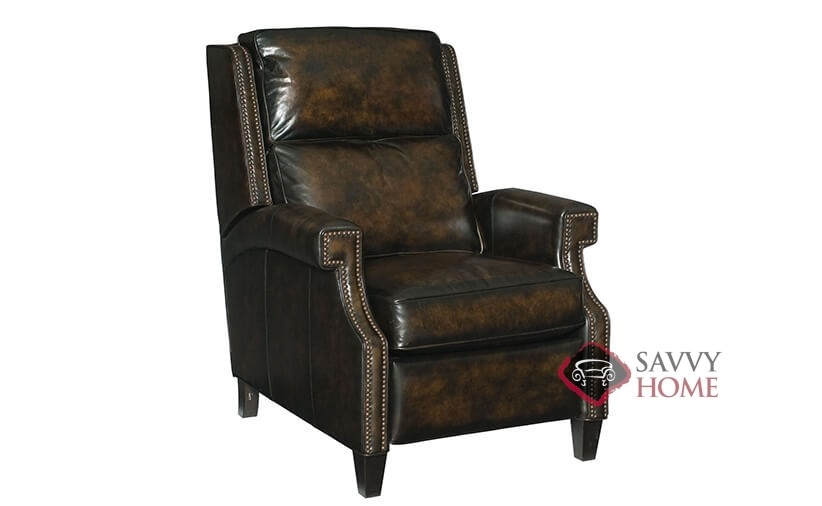 reclining leather chairs. barrett reclining leather chair by bernhardt in 160-220 chairs