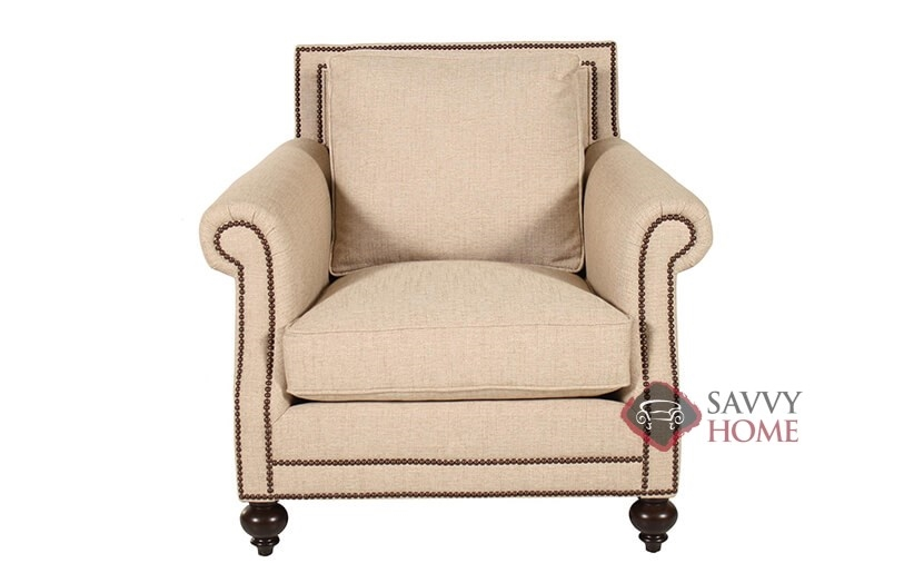 Merveilleux Brae Chair With Down Blend Cushion By Bernhardt In 1058 200