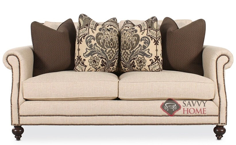 Admirable Brae Loveseat With Down Blend Cushions By Bernhardt Interior Design Ideas Oxytryabchikinfo