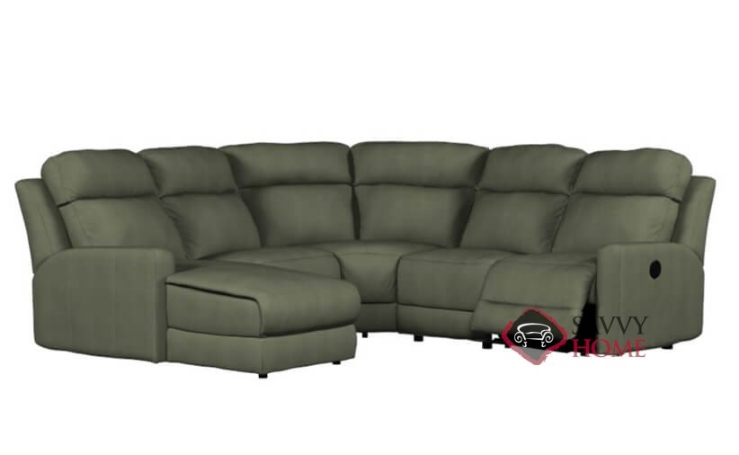 Forest Hill Fabric Reclining True Sectional By Palliser Is Fully