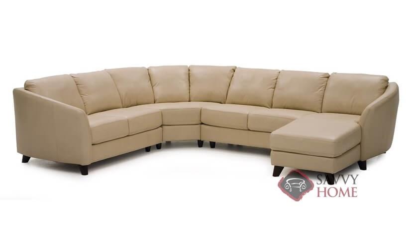 Amazing Alula Top Grain Leather U Shape True Sectional Sofa By Palliser Beatyapartments Chair Design Images Beatyapartmentscom