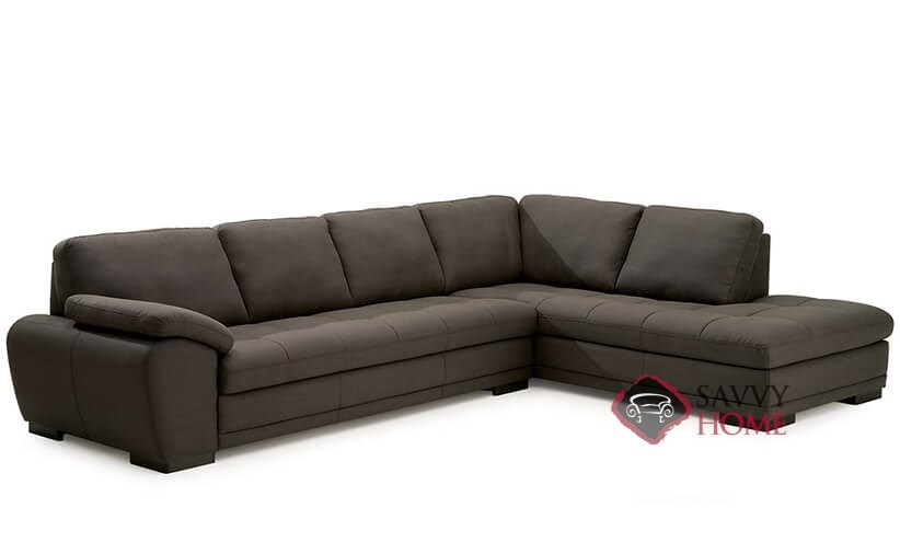 Miami by palliser fabric chaise sectional by palliser is for Sectional couches in miami