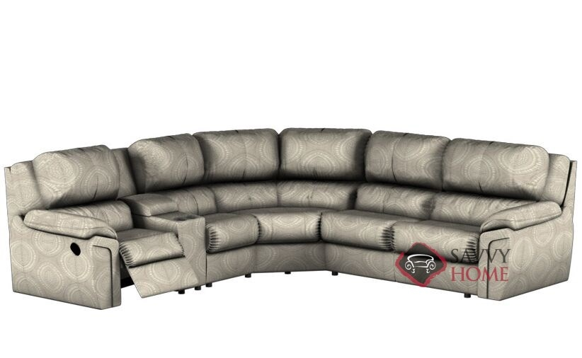 Daley Large Reclining True Sectional Full Sofa Bed with Console by  Palliser--Power Upgrade Available
