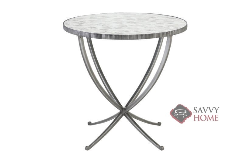 Carlow Round Side Table By Bernhardt Interiors