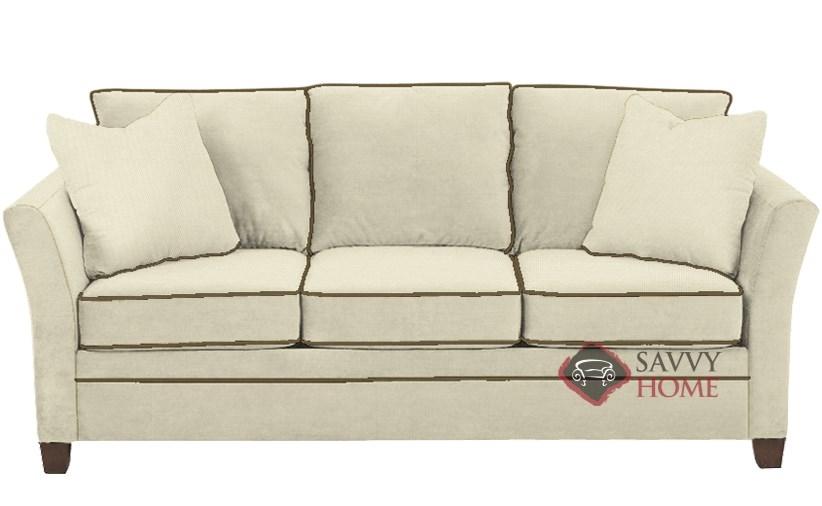 Murano Queen Sleeper Sofa In Oakley Ivory