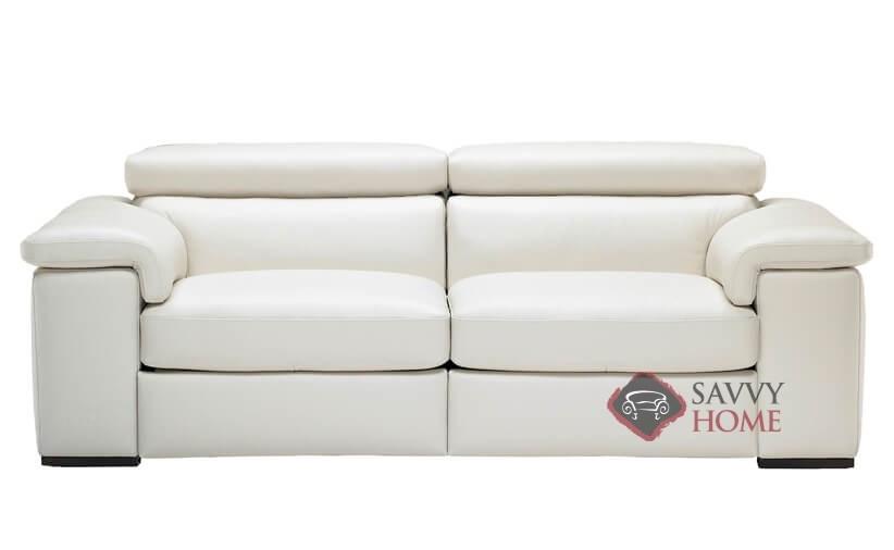 Beau Arda Power Reclining Leather Sofa By Natuzzi Editions