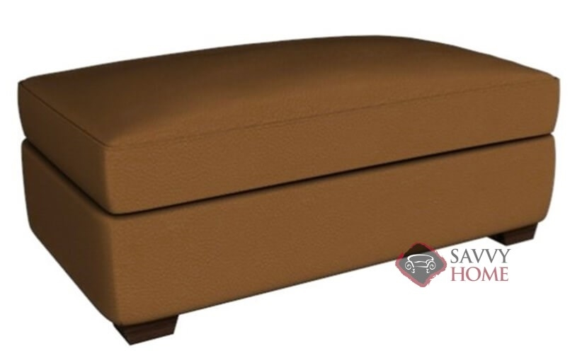 Fine Geneva Leather Ottoman By Savvy Short Links Chair Design For Home Short Linksinfo