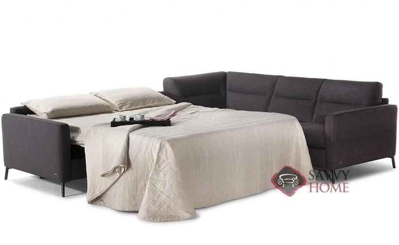 Caffaro Leather Sleeper Sofas True Sectional By Natuzzi Is