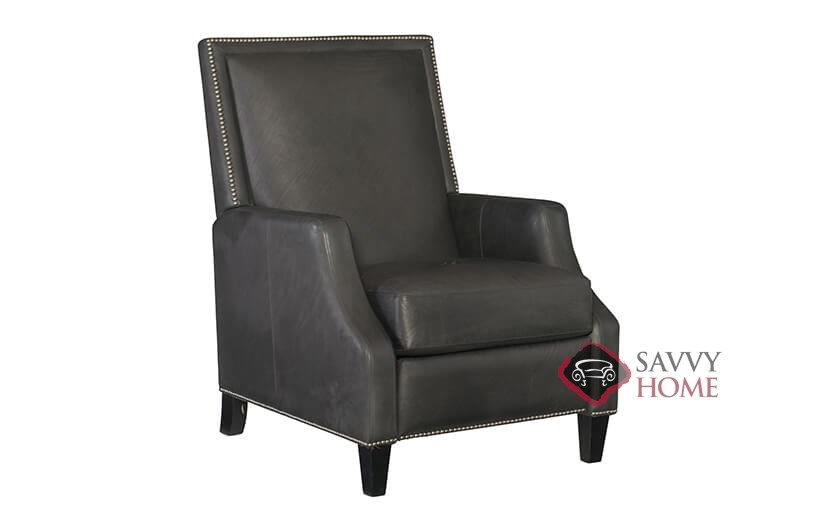 Forrest Leather Recliner With Down Blend Cushions By Bernhardt In 211 111