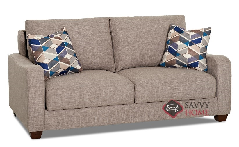 Toronto Queen Sofa Bed By Savvy Sideview
