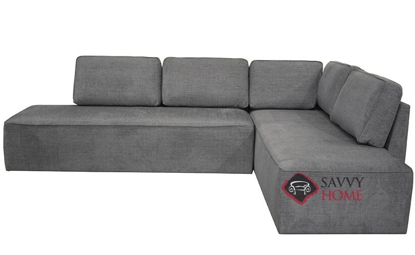 Contemporary Sectional Sleeper Sofa With Storage