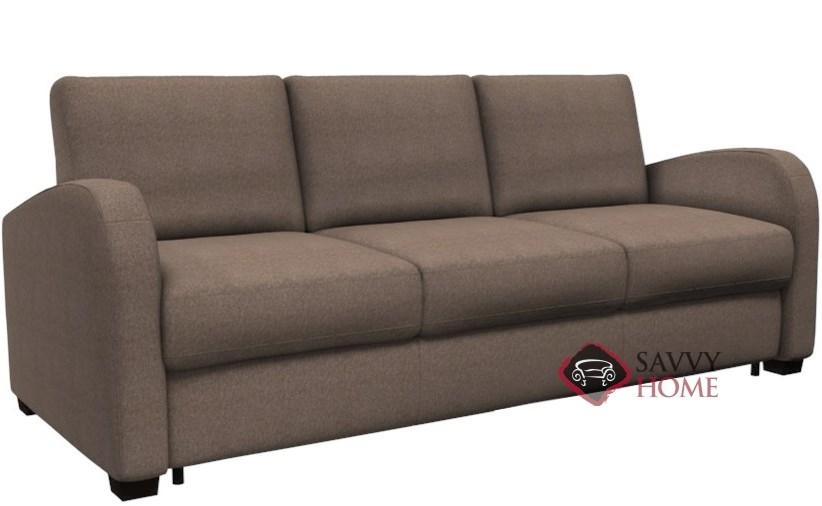 Gentil Daydream My Comfort 3 Cushion Queen Sleeper Sofa By Palliser In Mila Taupe