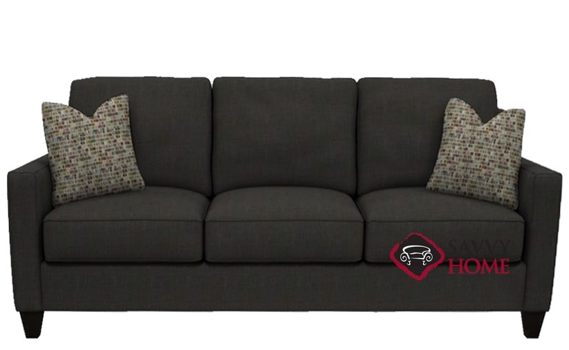 St Louis Queen Sleeper Sofa In Dumdum Charcoal