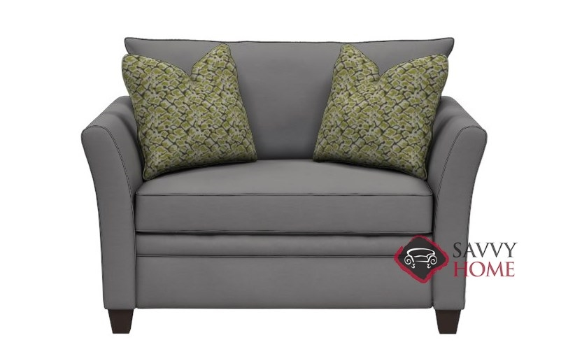 Murano Chair Sleeper Sofa In Oakley Graphite