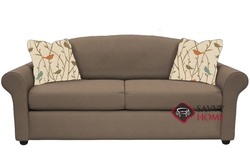 Chicago Full Sleeper Sofa In Geo Kangaroo