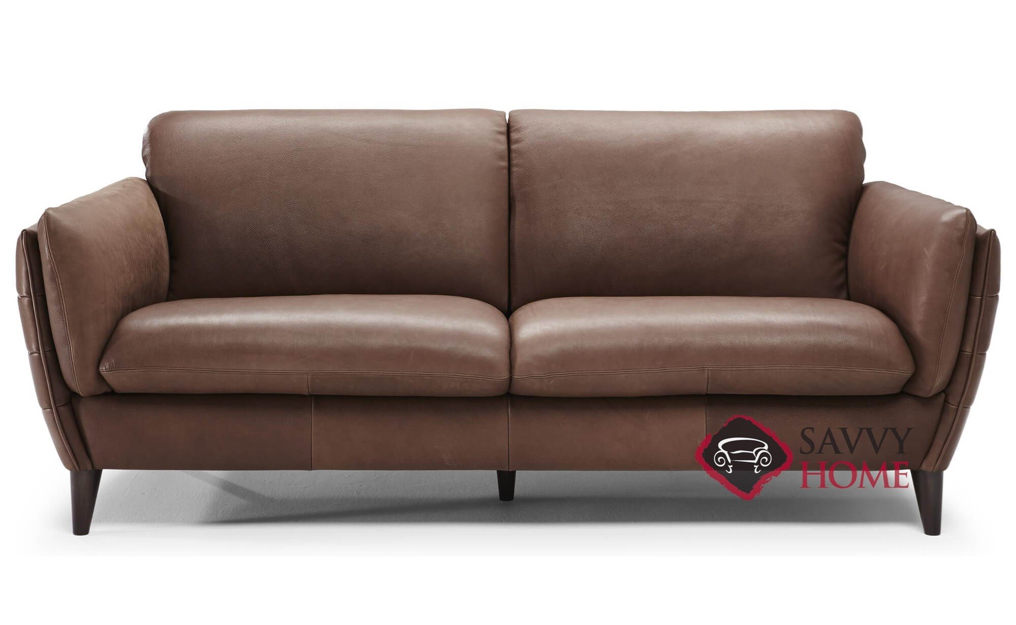 Limentra (B908) Leather Stationary Sofa by Natuzzi is Fully ...