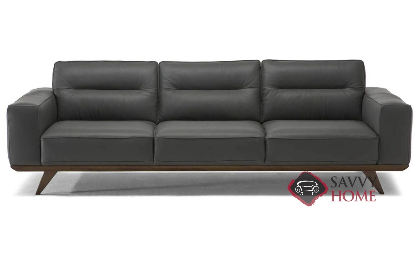 Tiber Leather Sofa By Natuzzi Editions (C006 064)