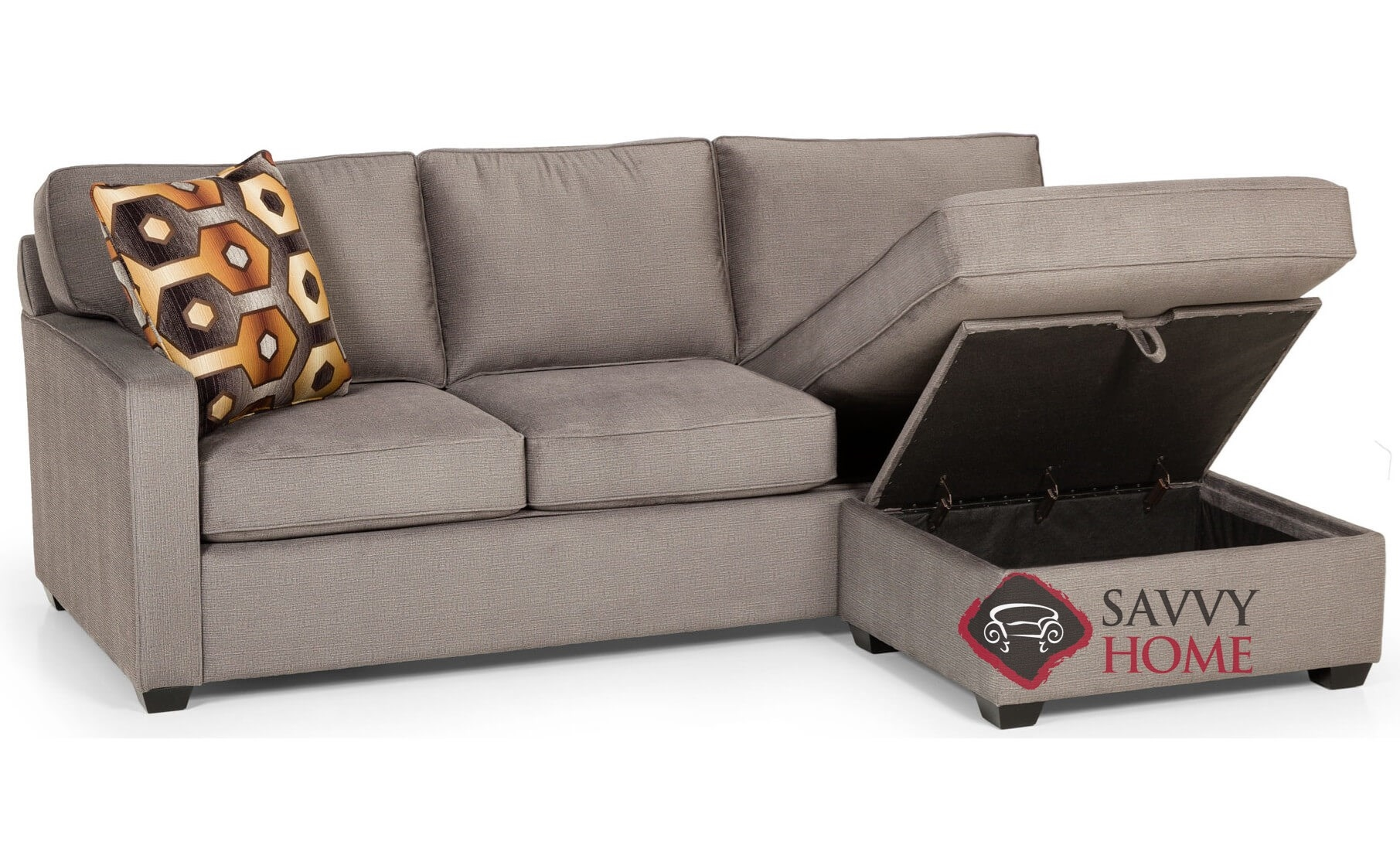 403 fabric chaise sectional by stanton is fully customizable by you Loveseat chaise sectional
