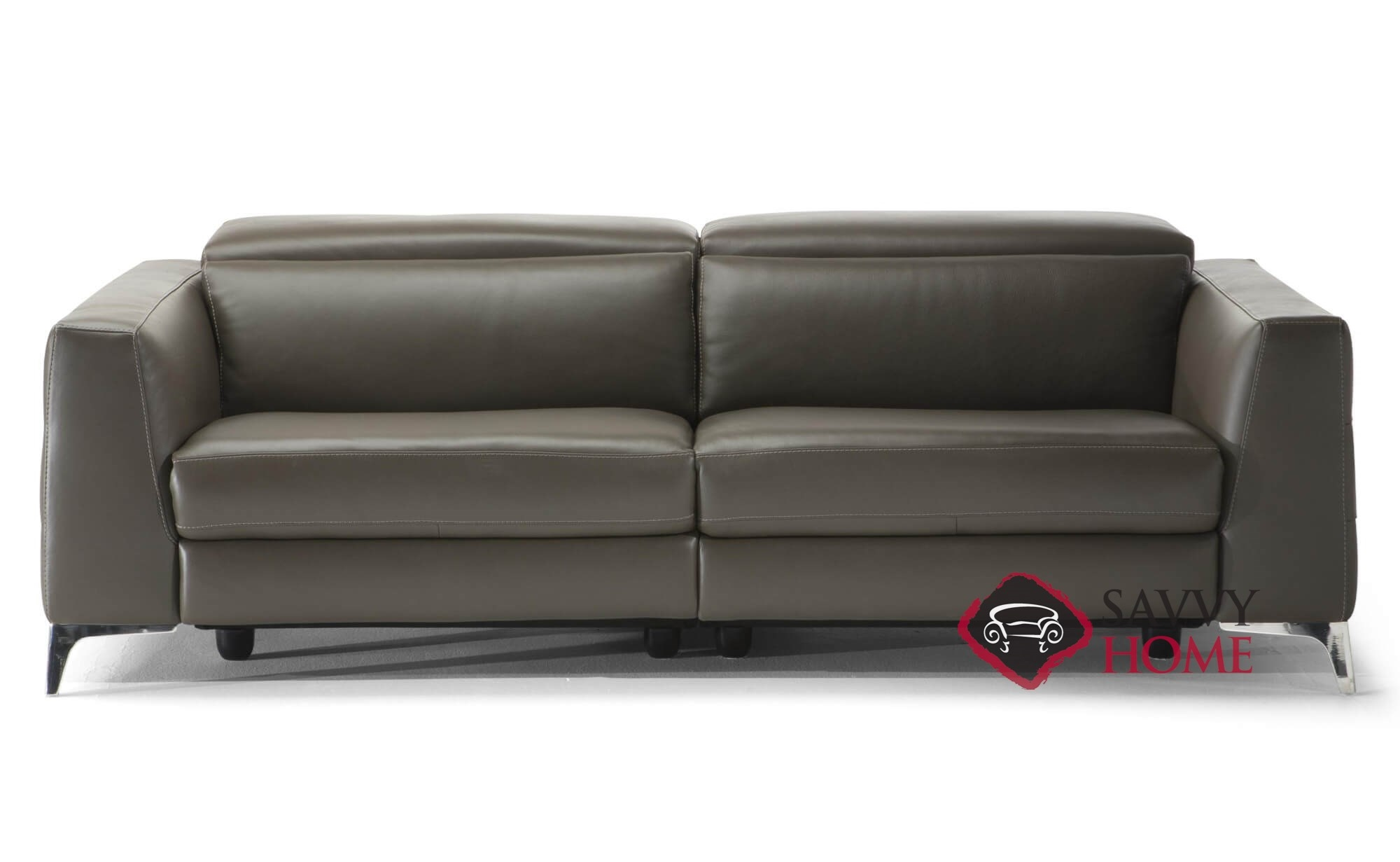 Trebbia Power Reclining Leather Sofa By Natuzzi Editions (B979 446)