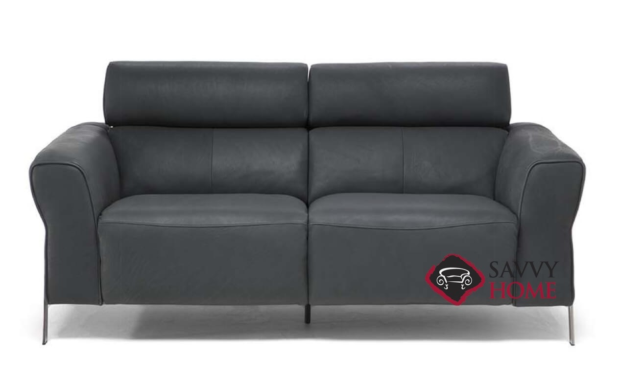 Neto Leather Loveseat By Natuzzi Is Fully Customizable By You