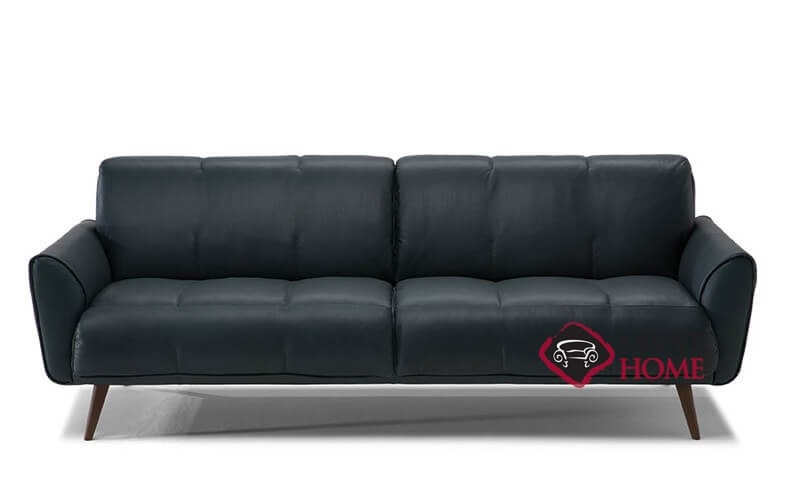 Arno B993 Leather Stationary Sofa By