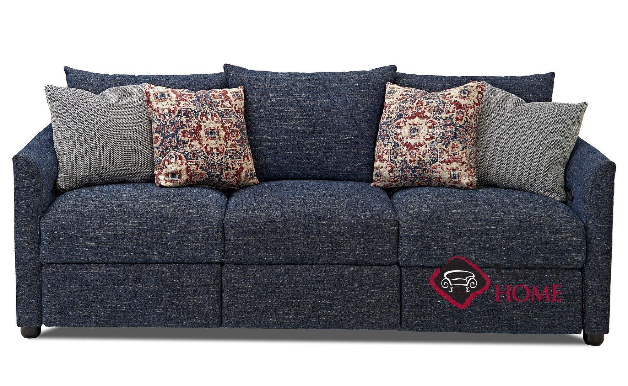 Aventura Fabric Reclining Sofa By Savvy