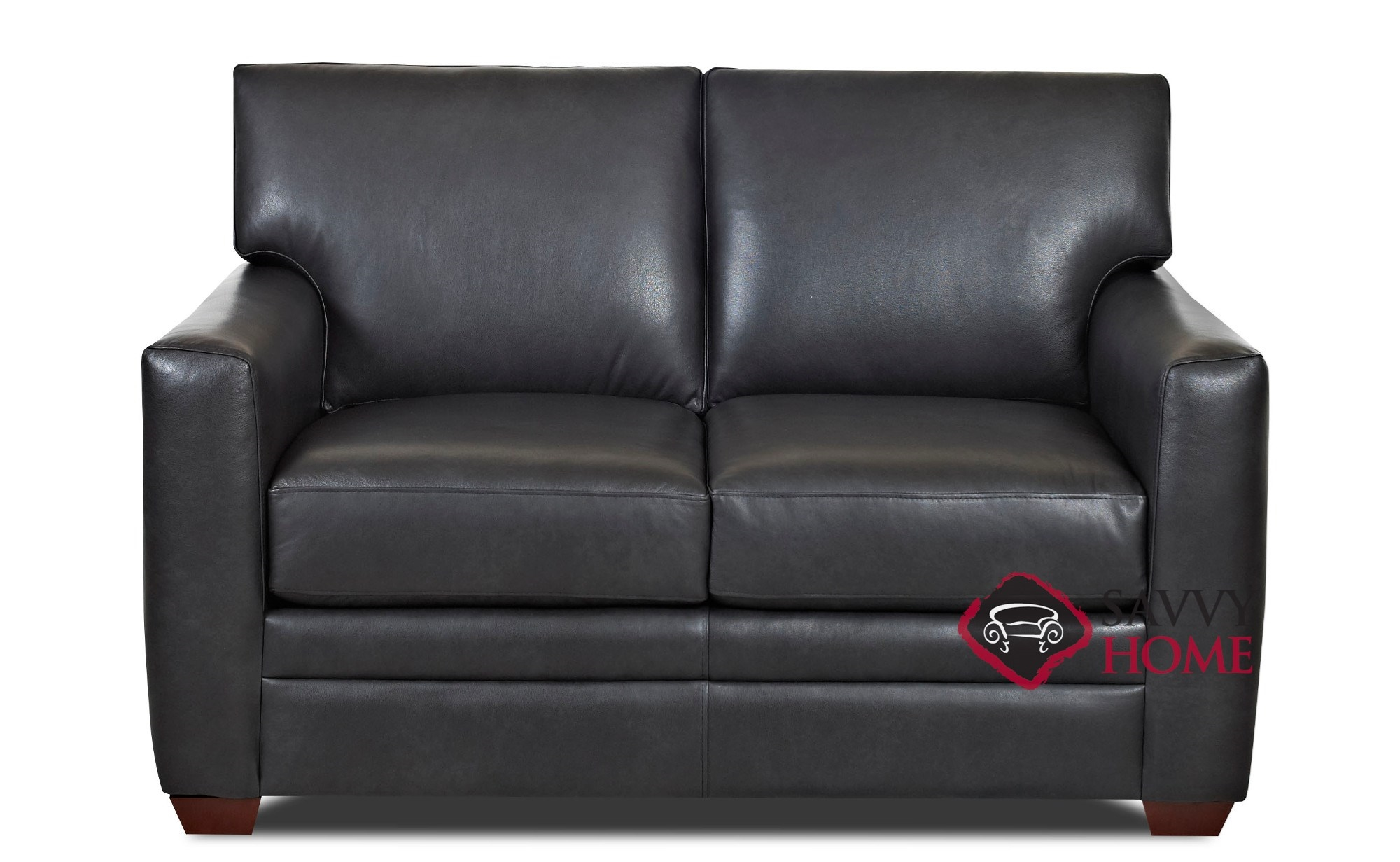 Marvelous Bel Air Leather Loveseat By Savvy Gmtry Best Dining Table And Chair Ideas Images Gmtryco