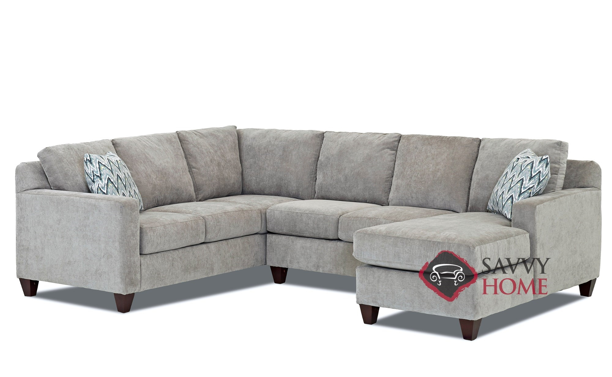Burbank fabric true sectional by savvy is fully for Furniture stores in burbank