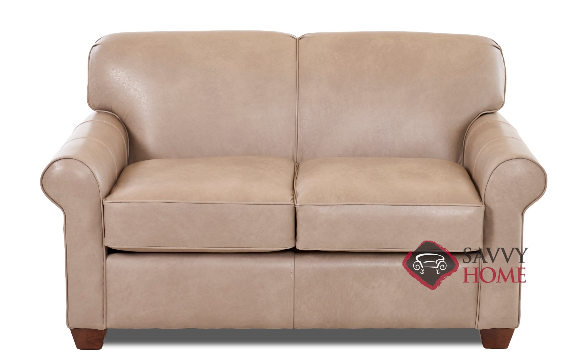 Calgary Leather Sleeper Sofas Twin By