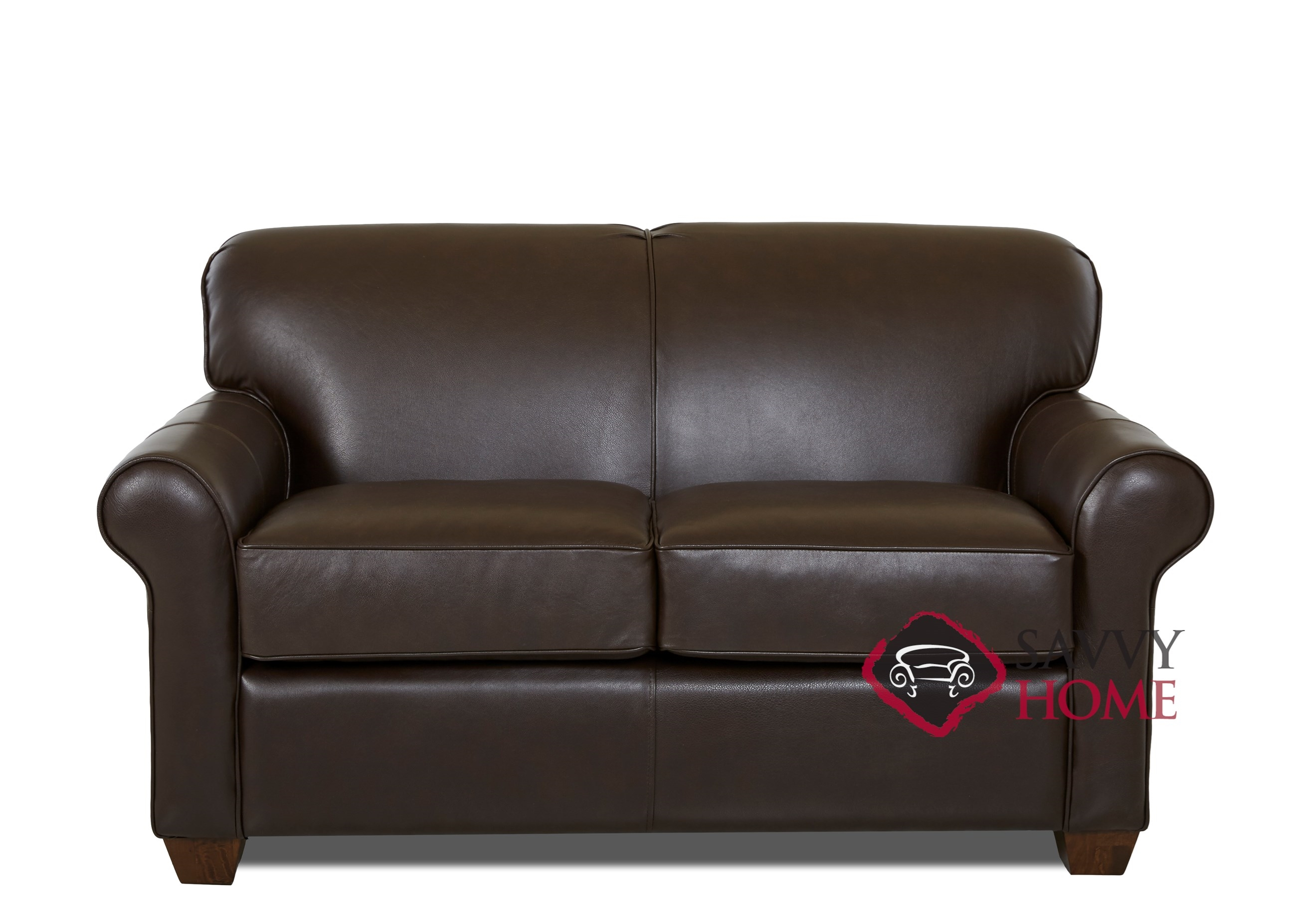 Calgary Leather Sleeper Sofas Twin By Savvy Is Fully Customizable By