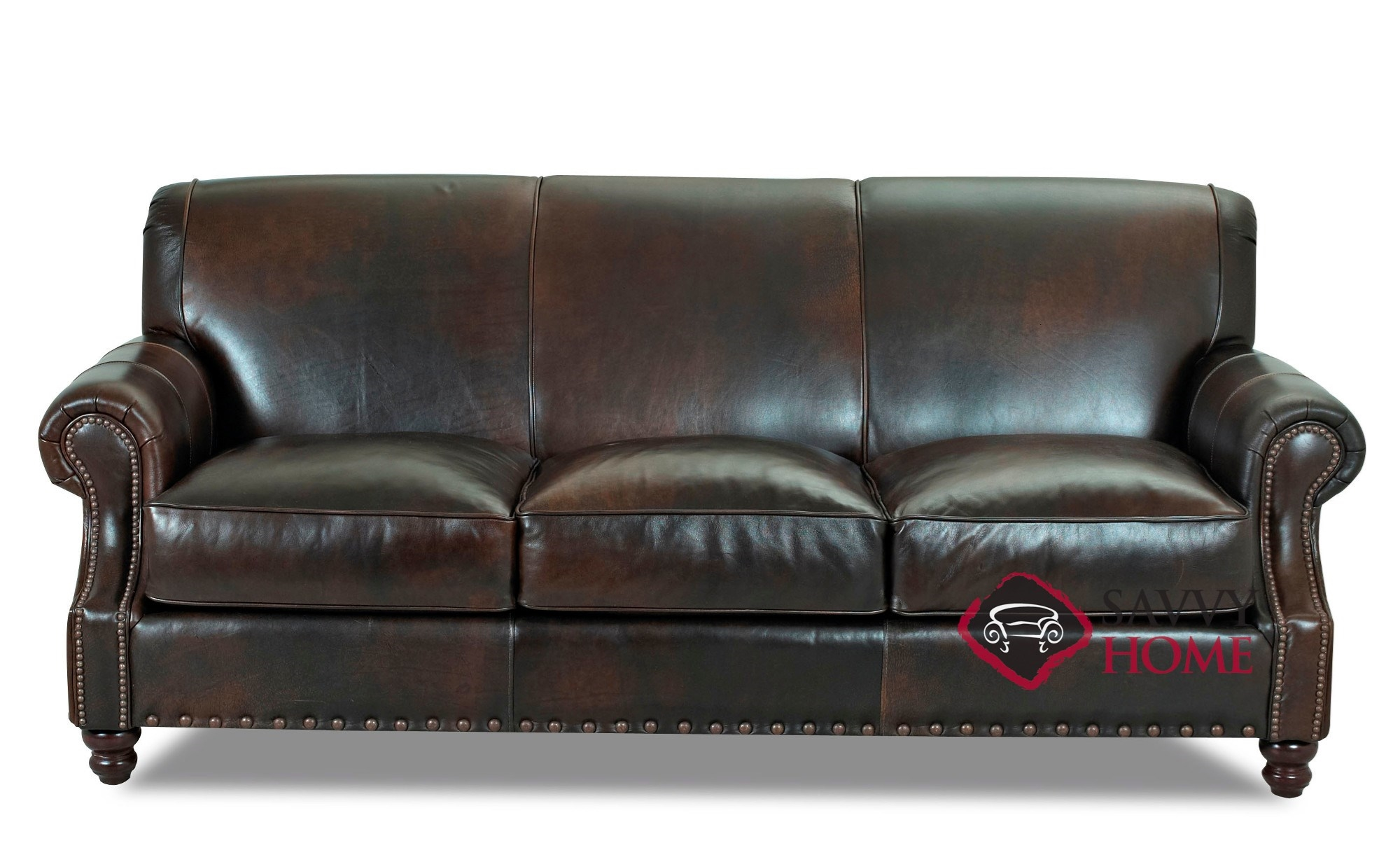 Fairbanks Leather Sofa by Savvy
