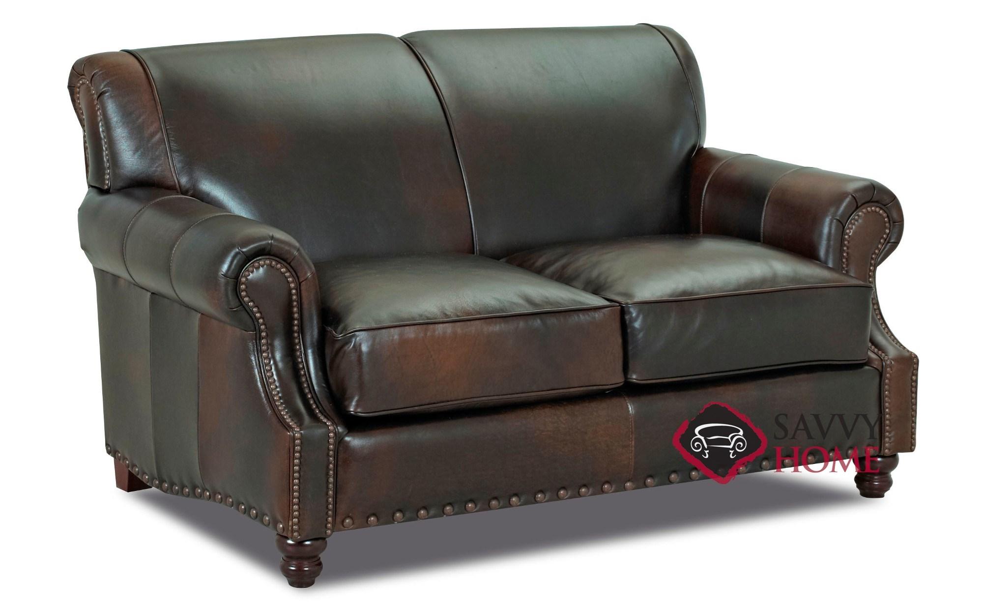 Strange Fairbanks Leather Loveseat By Savvy Inzonedesignstudio Interior Chair Design Inzonedesignstudiocom