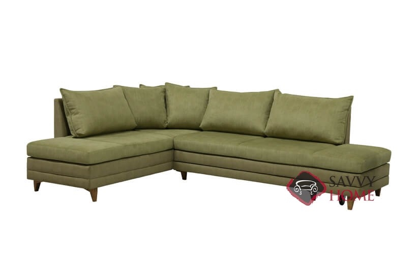 Curry Sectional Queen Sofa Bed By Luonto