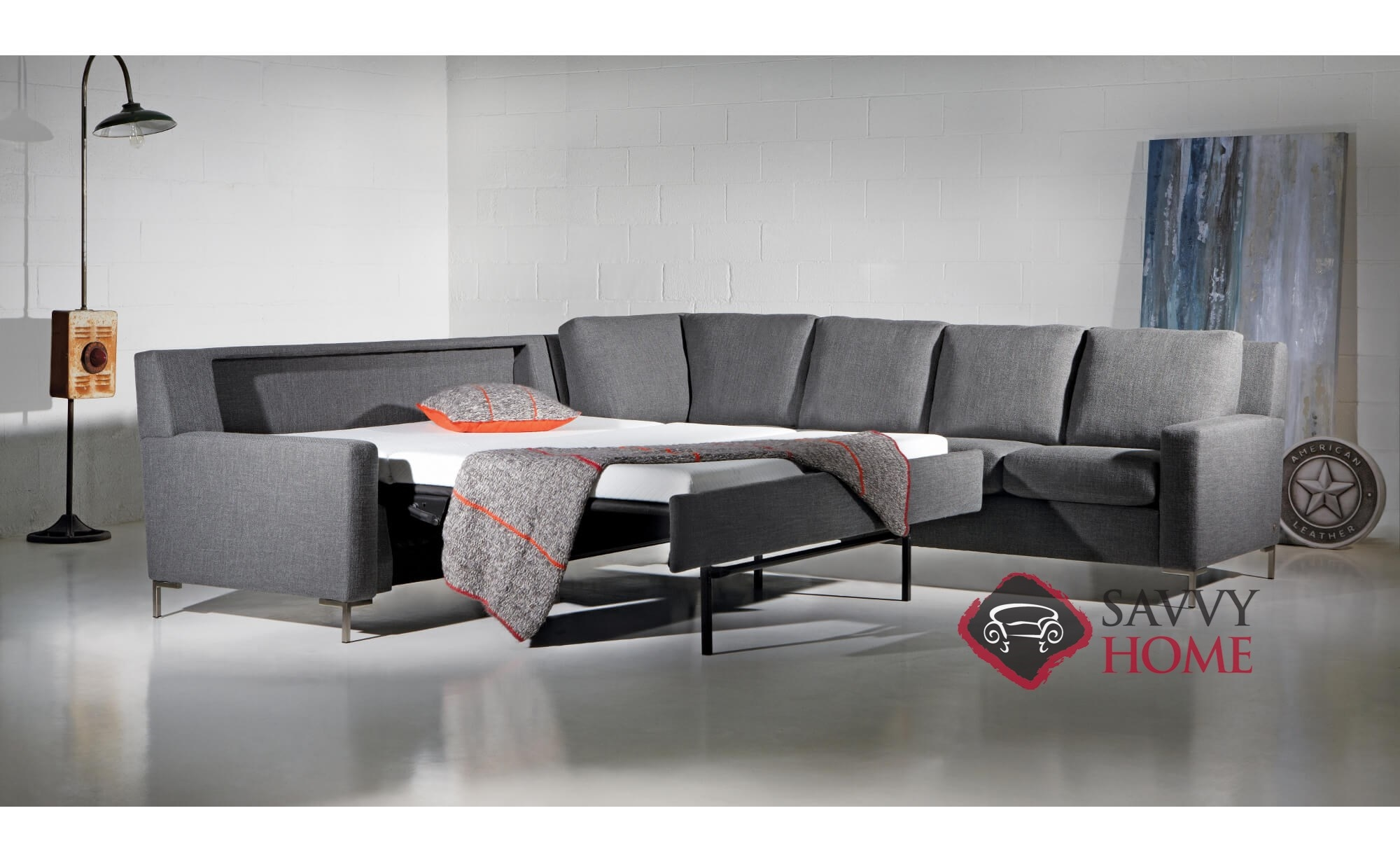 Bryson Fabric Sleeper Sofas Multiple Sizes Available By