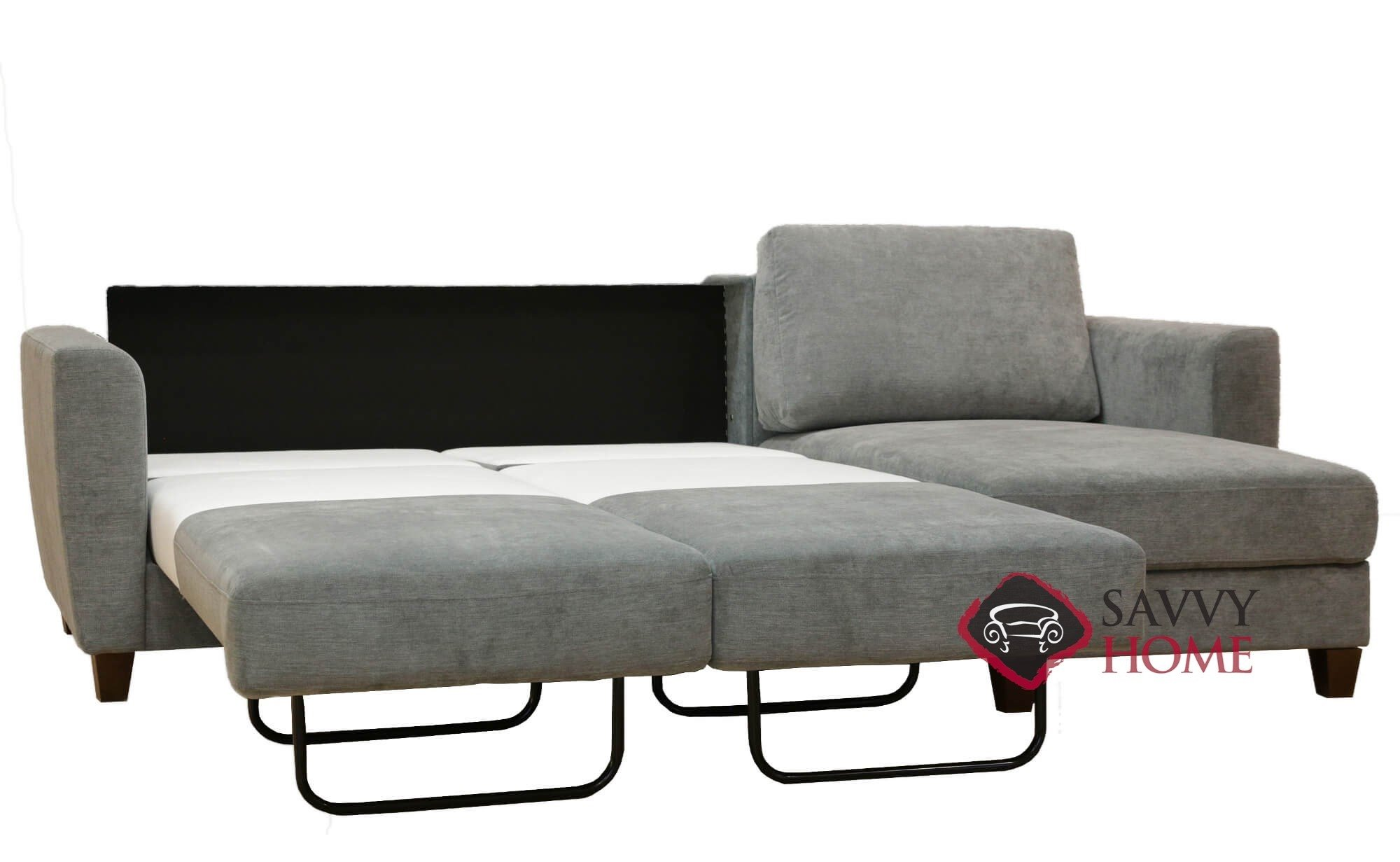 Delicieux ... Flex Chaise Sectional Full Sofa Bed In Lens 212 By Luonto ...