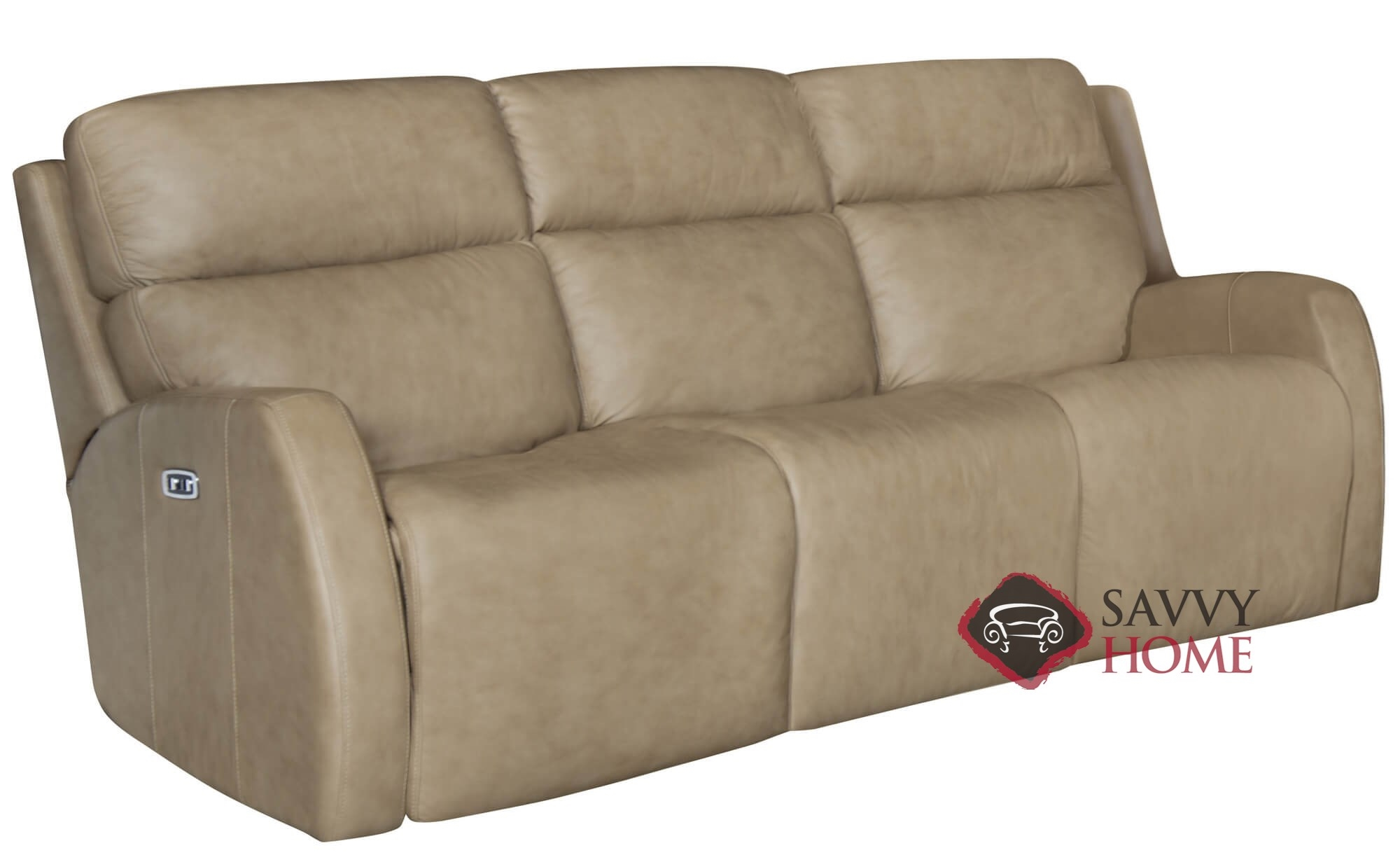 Quick-Ship Aaron by Bernhardt Leather Reclining Sofa in by ...