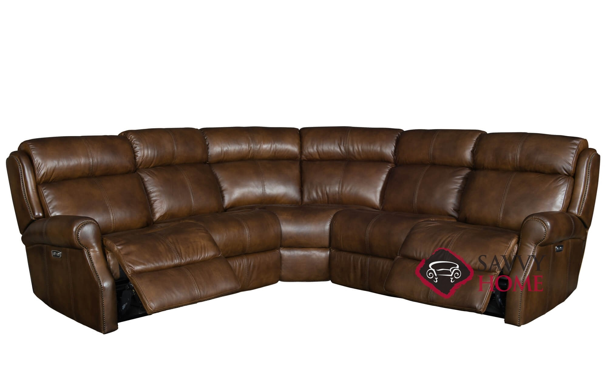 Quick Ship Mcgwire By Bernhardt Leather Reclining True