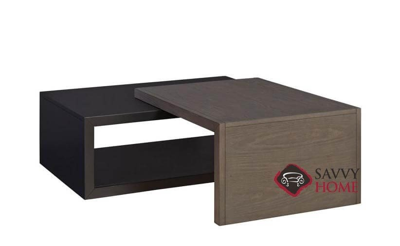 ... Kaplan Adjustable Rectangular Cocktail Table With 2 Black Boxes By  Palliser ...