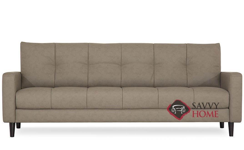 Palliser Leather Stationary Sofa, Palliser Sofa Reviews