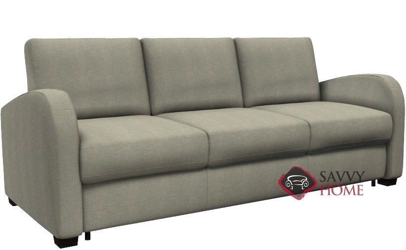 Daydream My Comfort 3 Cushion Queen Sleeper Sofa By Palliser In Key Largo Pumice