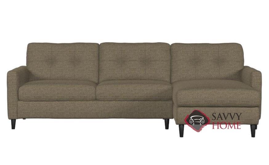 Cool Beech Chaise Sectional Sofa By Palliser Beatyapartments Chair Design Images Beatyapartmentscom