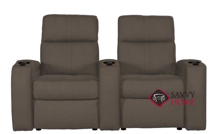 Wondrous Flicks 2 Seat Top Grain Leather Power Reclining Home Theater Seating Straight With Consoles By Palliser Spiritservingveterans Wood Chair Design Ideas Spiritservingveteransorg