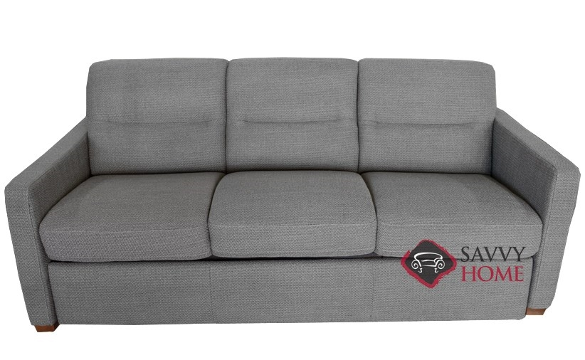 Conca C010 530 Queen Sleeper Sofa By Natuzzi Editions In Egeo Grey