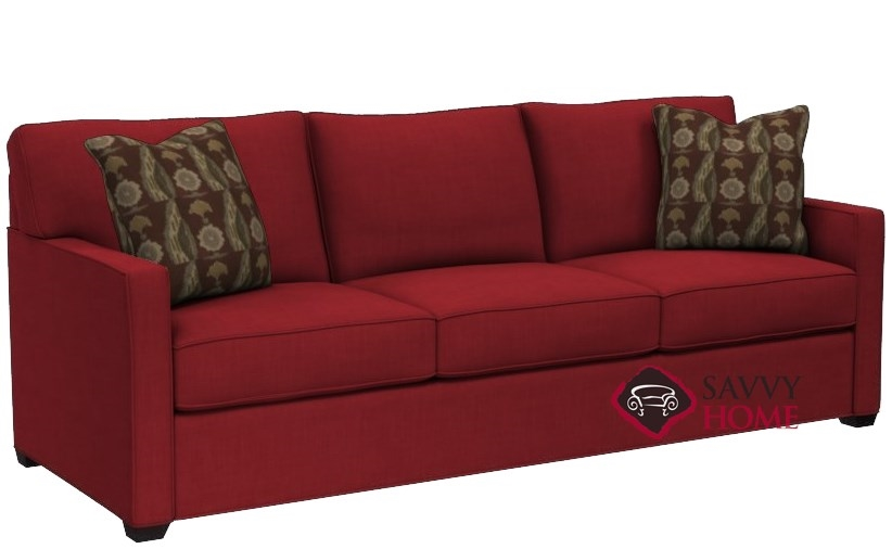 Quick-Ship 287 Fabric Sleeper Sofas Queen in Bennett Red by Stanton with  Fast Shipping | SavvyHomeStore.com