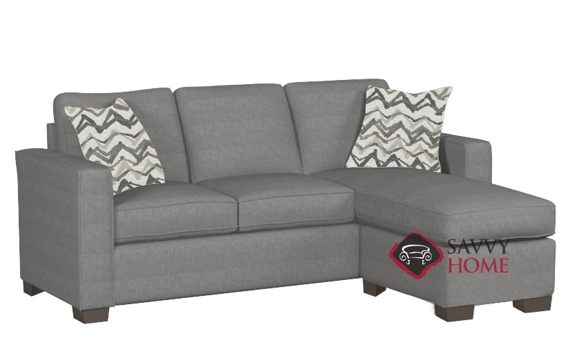 Quick-Ship 702 Fabric Sleeper Sofas Chaise Sectional in Legacy Steel by  Stanton with Fast Shipping | SavvyHomeStore.com