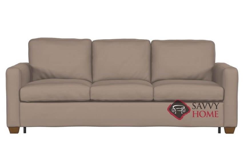 Kildonan CloudZ Queen Top Grain Leather Sofa Bed