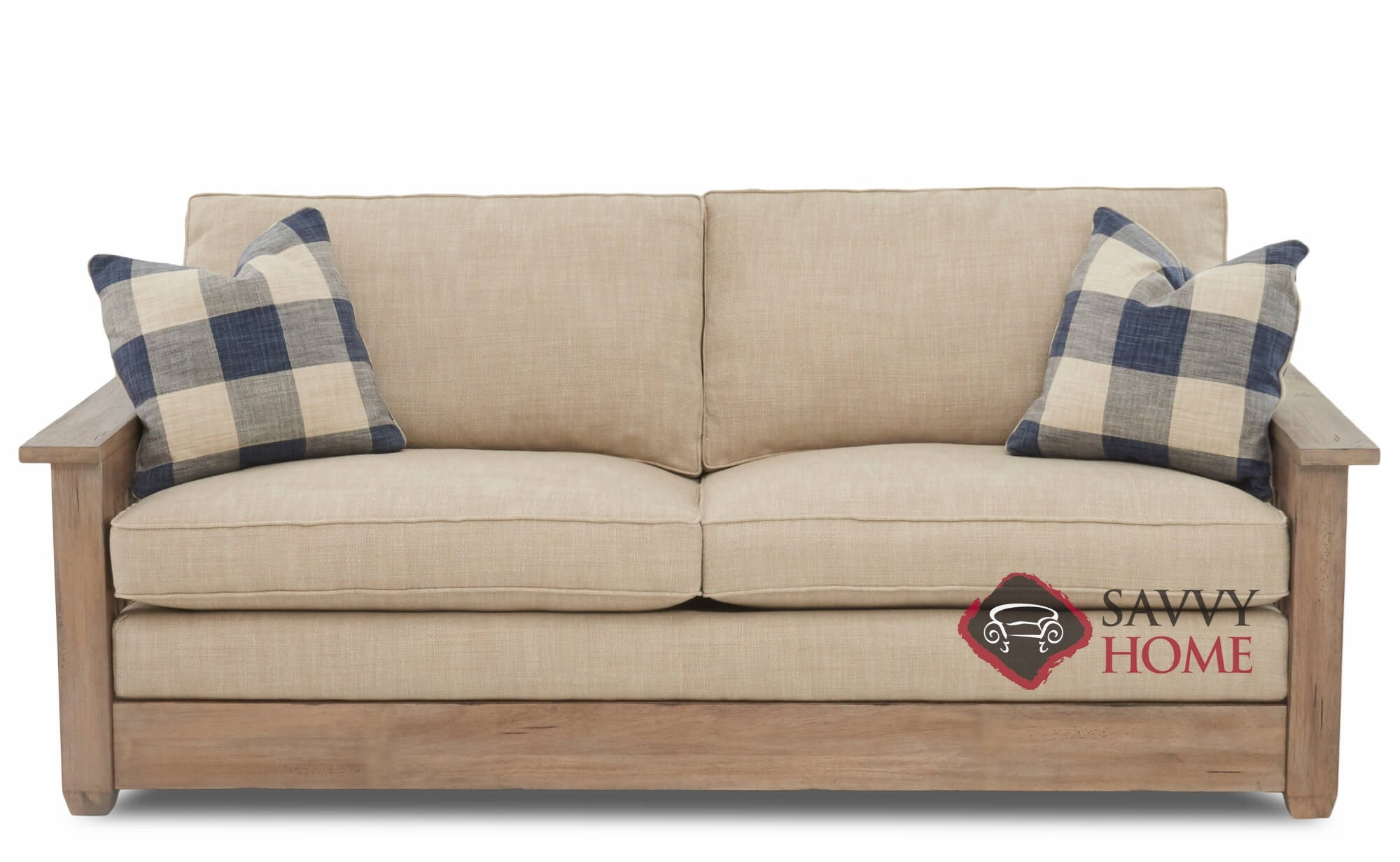 Garland Fabric Sleeper Sofas Queen By Savvy Is Fully
